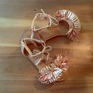 Gap sandals NWOT girl size 13